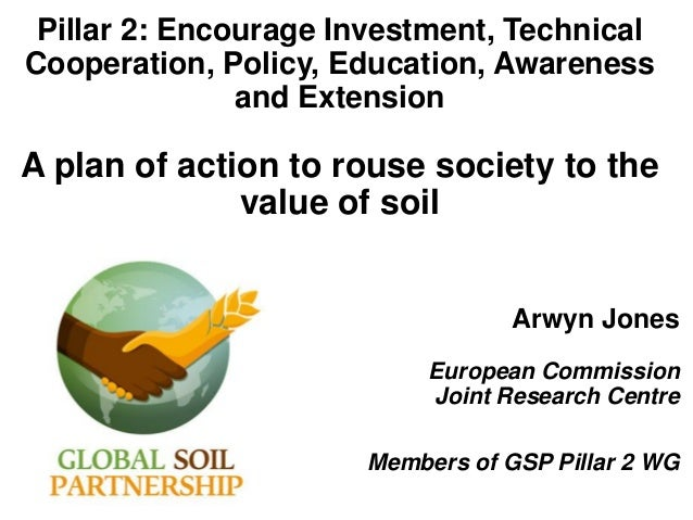 Pillar 2: Encourage Investment, Technical Cooperation, Policy, Education, Awareness and Extension A plan of action to rous...