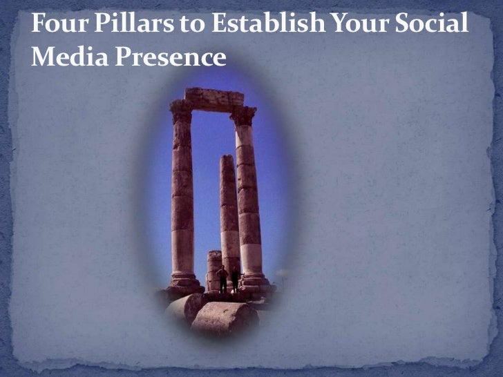 Four Pillars to Establish Your Social Media Presence<br />