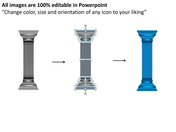 Pillars powerpoint presentation templates 9 toneelgroepblik Image collections