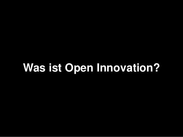 Open Innovation in der öffentlichen Verwaltung Slide 2