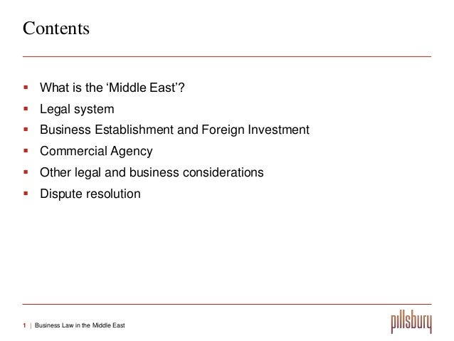 business law in middle east With its strategic location as a bridge between east and west, the middle east is one  we offer an efficient and coordinated legal service across the middle-east.
