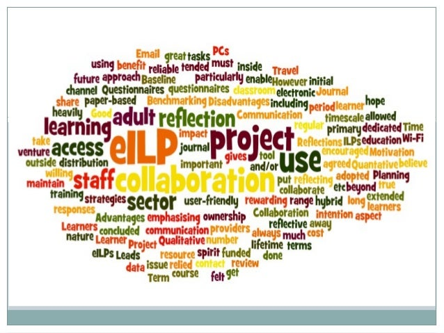 Project brief• Increasing use of Moodle - exploringthe potential of eILPs• Feedback from tutor and learner• Engage with Ar...