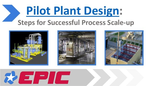 Demonstration Plant Testing Pilot Plant Design: Steps for Successful Process Scale-up