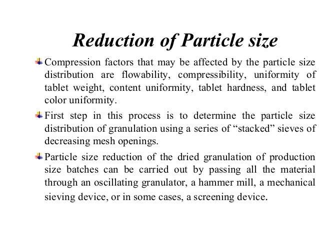 Oscillating type granulator Hammer mill