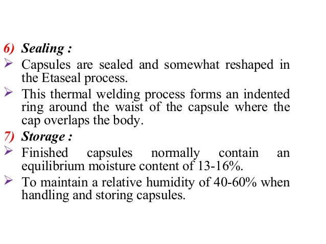 Filling of hard gelatin capsules  Equipment used in capsule filling operations  involves one often of two types of filling...