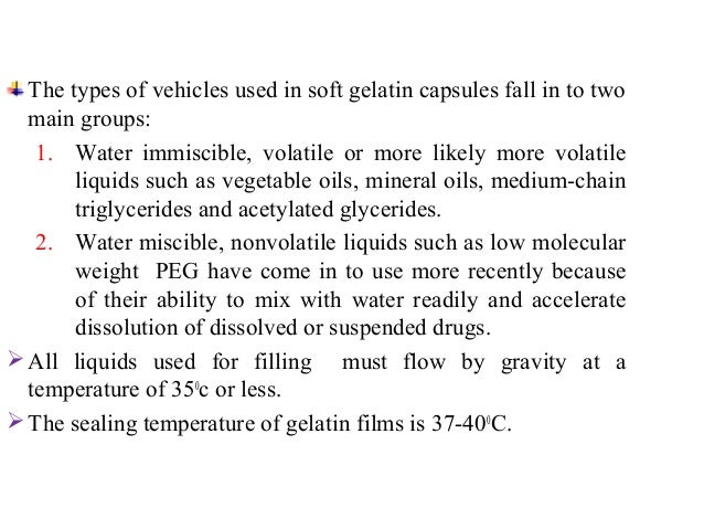 III.Manufacture process :  A. Plate process :  The process involved  • Placing the upper half of a plasticized gelatin she...