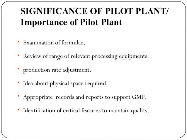PILOT PLANT SCALE UP TECHNIQUES EBOOK