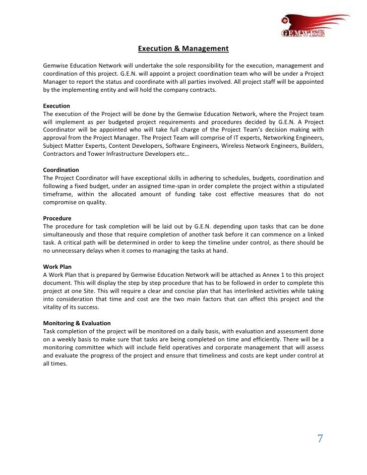sample proposal template for project