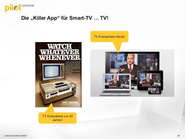 app werbung tv