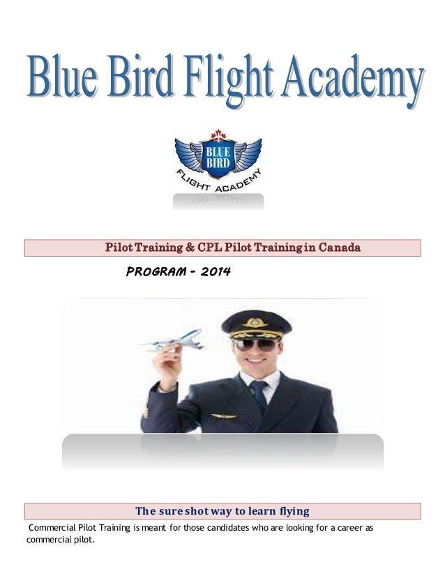 Pilot Training Commercial Pilot License Cpl Blue Bird Fligh A