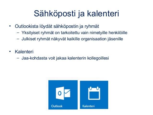 Pilvet ja Office 365 8.12.14