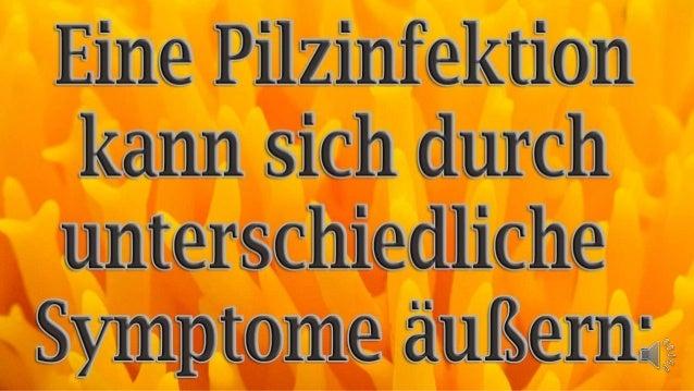 Pilzinfektion Symptome