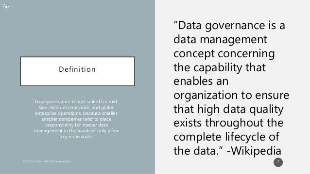 5 Ways Data Governance Drives Revenue Slide 2