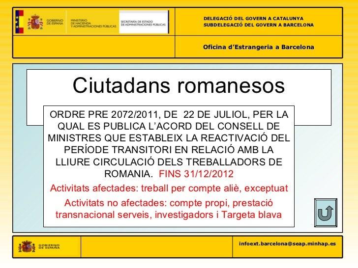 Pimec2012 for Oficina de treball barcelona