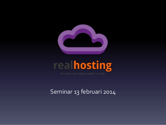 Seminar 13 februari 2014
