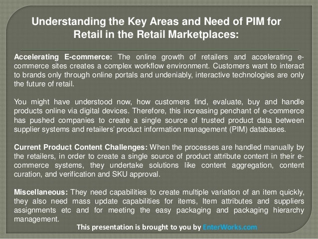 PIM Solutions for Retail to Increase Retail Industry's E-Commerce SalesEffectiveness Slide 3