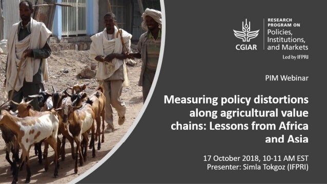 Scope of the Synthesizing Work 4 countries, 9 agricultural value chains • Ethiopia: Goats and Sheep Value Chains • India: ...