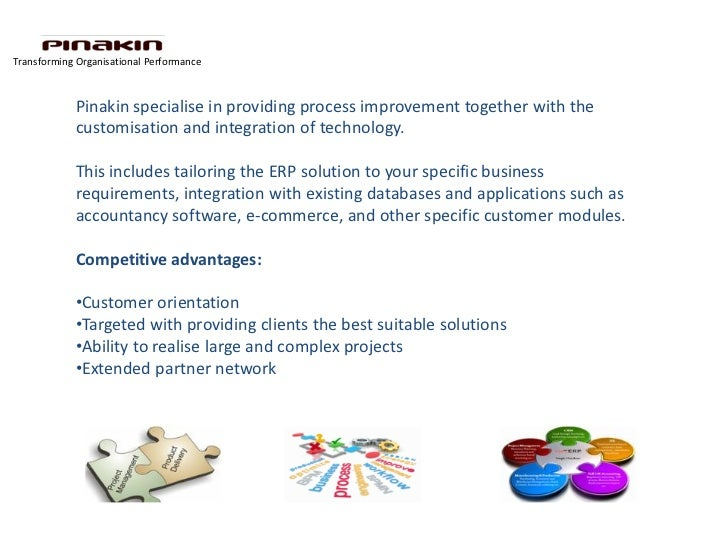 Transforming Organisational Performance            Pinakin specialise in providing process improvement together with the  ...