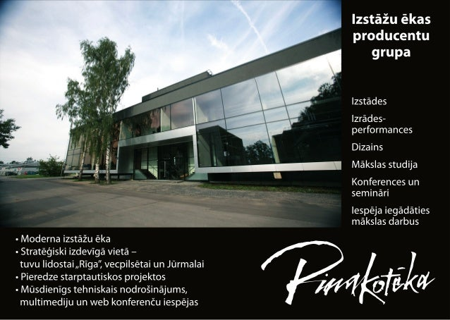 Ltd. Pinakoteka office &exhibitions building