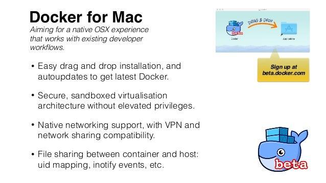 OSCON: Advanced Docker developer workflows on Mac OS and Windows