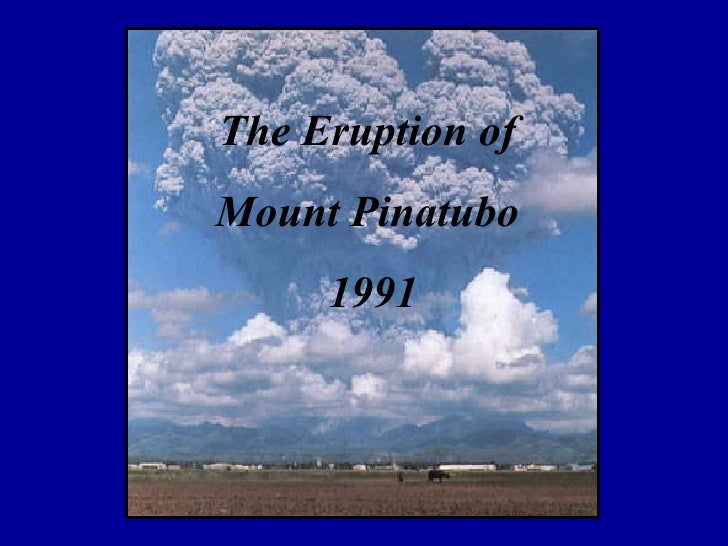 mount pinatubo case study ppt
