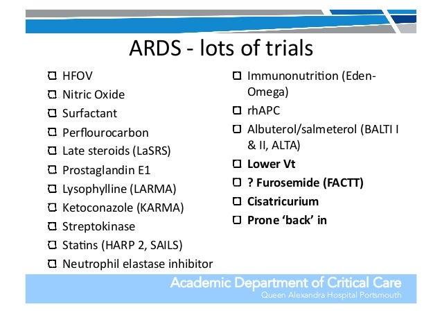 Eden study ards