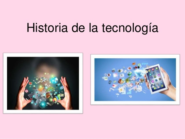 Linea del tiempo historia de la tecnología - photo#44