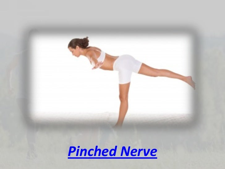how to help a pinched nerve in back