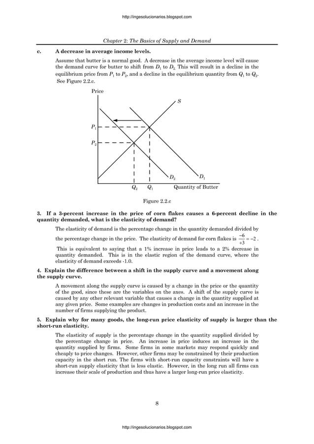 http://ingesolucionarios.blogspot.com                          Chapter 2: The Basics of Supply and Demandc.    A decrease ...