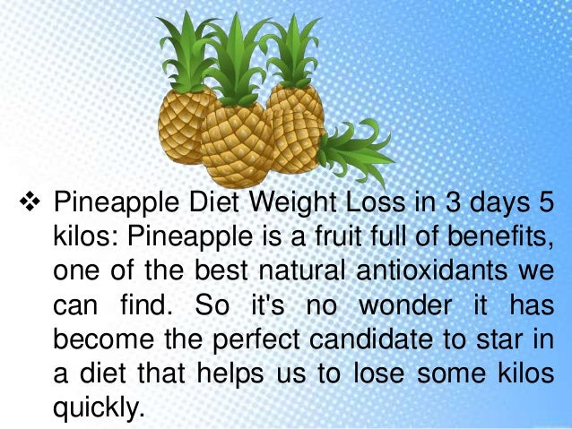 Is Pineapple Good for Losing Weight?