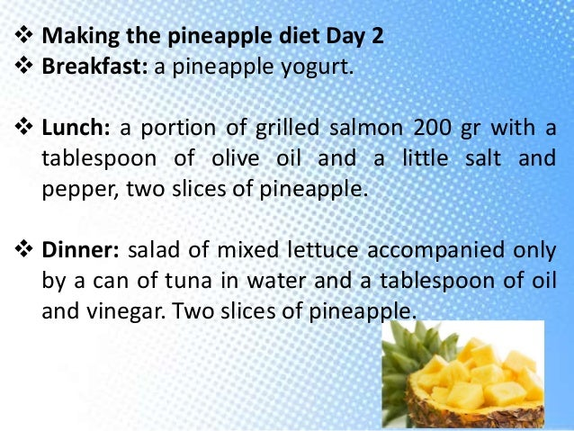 3 Day Pineapple Diet To Lose Weight Up to 20 kg