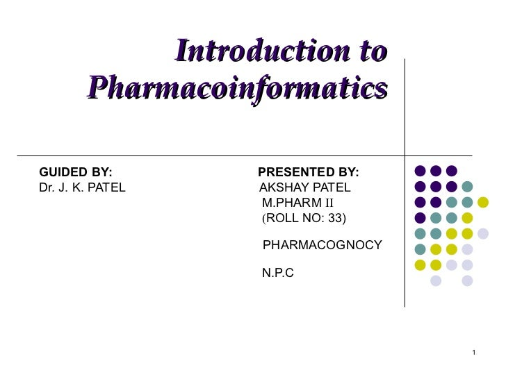 GUIDED BY:  PRESENTED BY: Dr. J. K. PATEL  AKSHAY PATEL M.PHARM  II ( ROLL NO: 33)  PHARMACOGNOCY  N.P.C Introduction to P...