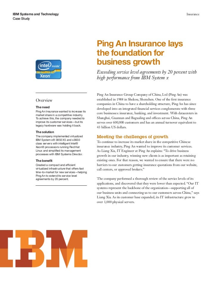 Ping An Insurance lays the foundation for business growth