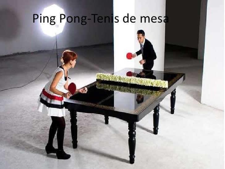 Ping pong tenis de mesa for Mesa de ping pong milanuncios