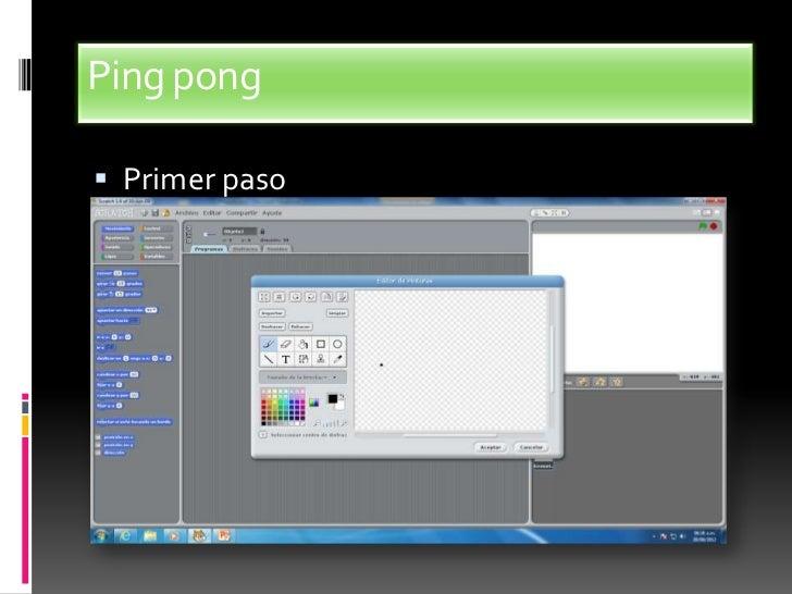 Ping pong Primer paso