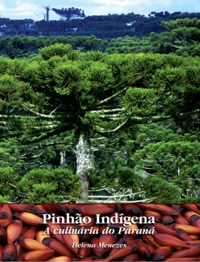 Pinhão Indígena A Culinária do Paraná Helena Menezes Curitiba 2008