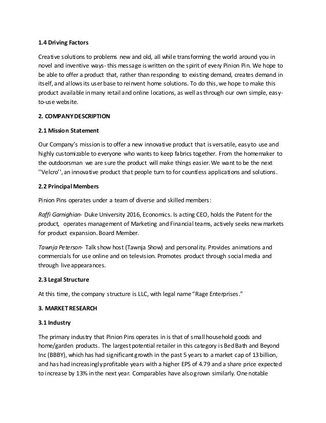 Do cash flow business plan