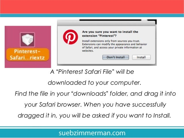How to install the Pinterest Pin it Button