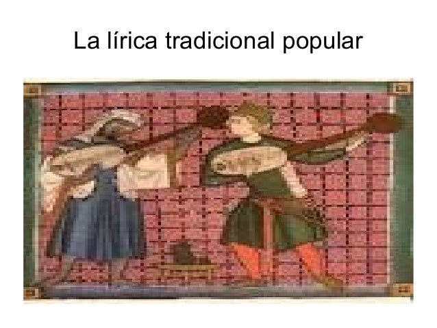 La lírica tradicional popular
