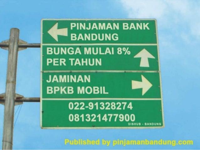 Pinjaman Dana Jaminan BPKB MOBIL//Sertifikat Hub ...
