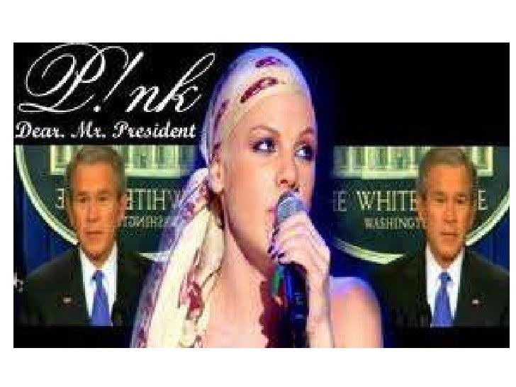 Pink Dear Mr President Student Analysis