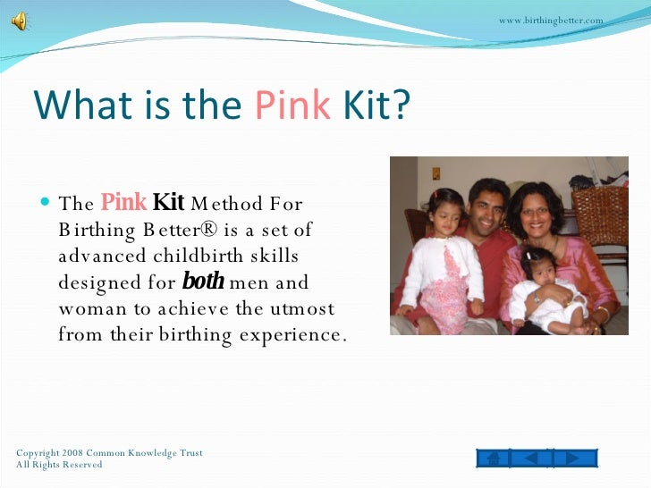 Pink Kit Presentation Slide 2