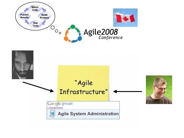 """Agile Infrastructure"""