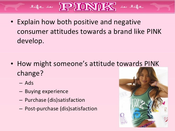 what role does pink appear to be playing in the self concept of tweens teens and young adults essays 1 problem / need recognition (external stimuli: pink's promotional material, word-of-mouth, lifestyle, status, self-concept, celebrities and peersall lead to a want of fashionable, trendy and hip clothing [more of an external than internal need]) 2.
