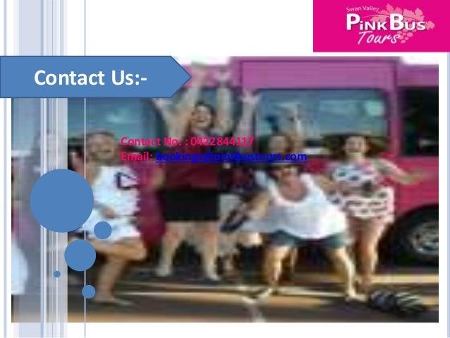 Pink bus tours