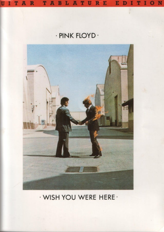 Pink floyd   wish you were here (guitar songbook)