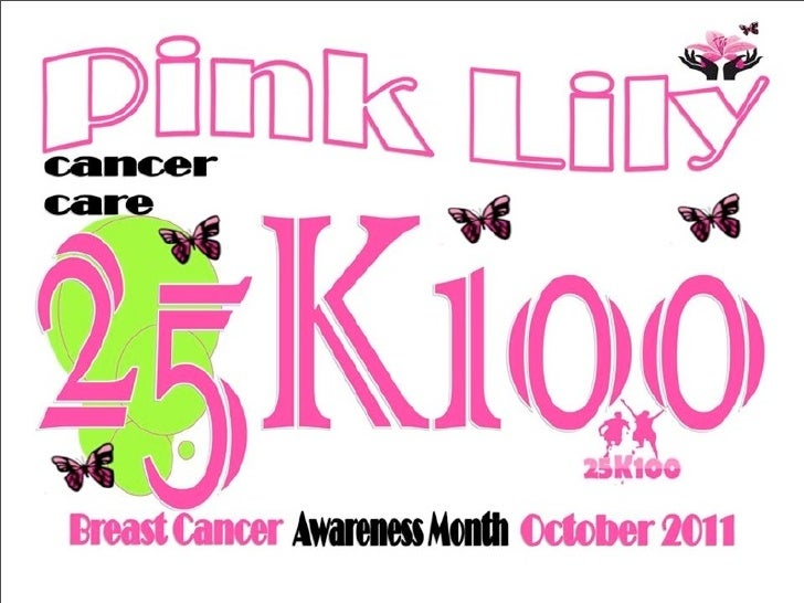 """Pink Lily is """"Standing up to Cancer"""""""