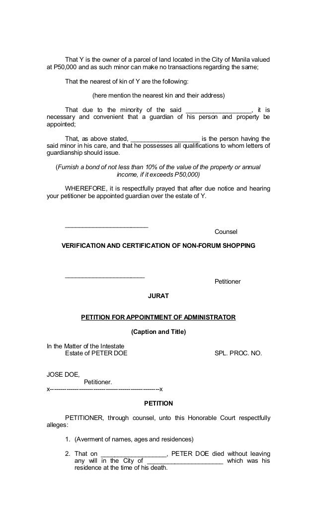 Legal Forms of Philippines – How to Write a Legal Affidavit