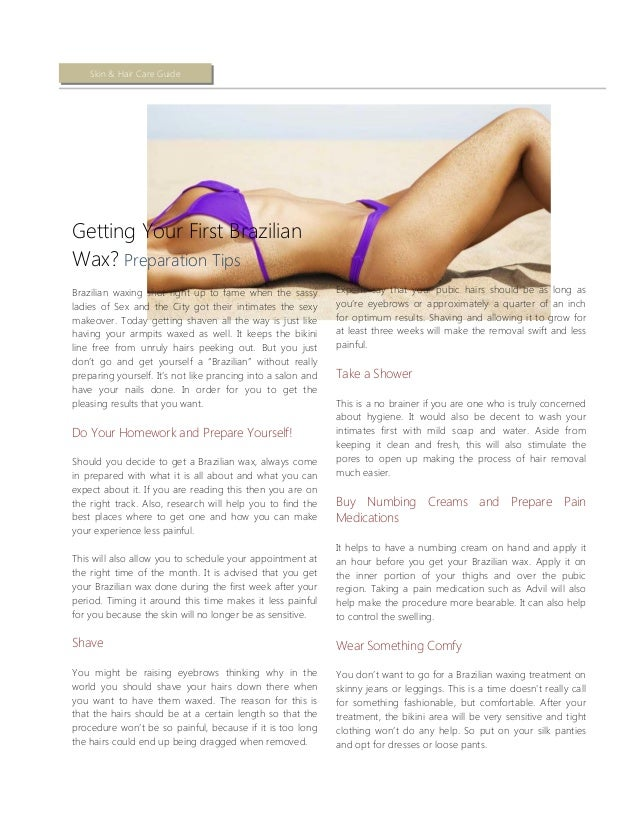 difference between brazilian and sphinx waxing