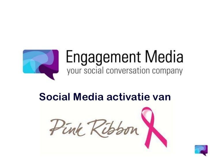 Social Media activatie van<br />